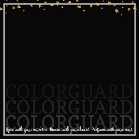 Colorguard: Love 12 x 12 Paper