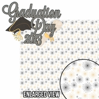 Congrats Grad: Graduation Day 2013 2 Piece Laser Die Cut Kit