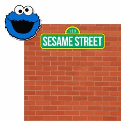Cookie Monster: Sesame Street 2 Piece Laser Die Cut Kit
