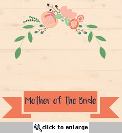 Country Wedding: Mother of the Custom 12 x 12 Paper
