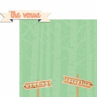 Country Wedding: The Venue 2 Piece Laser Die Cut Kit
