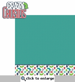 Cousins: Crazy Cousins 2 Piece Laser Die Cut Kit
