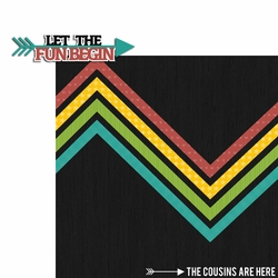 Cousins: Let the Fun 2 Piece Laser Die Cut Kit