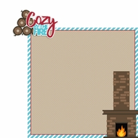 Cozy: Cozy 2 Piece Laser Die Cut Kit