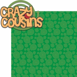 Crazy Cousins: Crazy Cousins 2 Piece Laser Die Cut Kit
