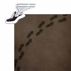 Cross Country: Shoe 2 Piece Laser Die Cut Kit