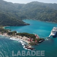 Cruise Ports: Labadee 12 x 12 Paper