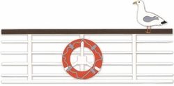 Cruise Railing Border Laser Die Cut