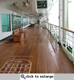 Cruise Ship Deck 2 12 x 12 Paper