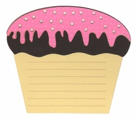 Cupcake Journal Laser Die Cut