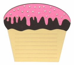 2SYT Cupcake Journal Laser Die Cut