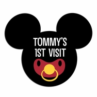 Custom Baby Mickey Laser Die Cut