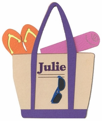 Custom Beach Tote Bag