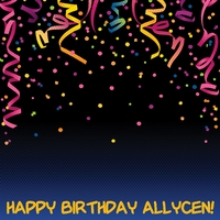 Custom Birthday Confetti 12 x 12 Paper