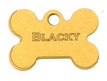 Custom Dog Tag Laser Die Cut