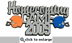 Custom Homecoming Game Laser Die Cut