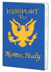 Custom Passport Laser Die Cut