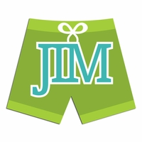 Custom Swim Shorts Laser Die Cut