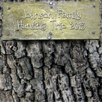 Custom Tree Sign 12 x 12 Paper