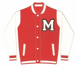Custom Varsity Jacket Laser Die Cut