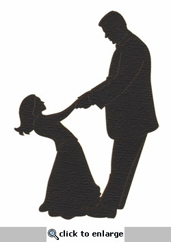 Daddy & Daughter Dance Laser Die Cut