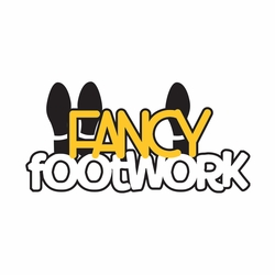 Dance: Fancy Footwork Laser Die Cut