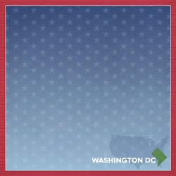 DC Travels: DC Label 12 x 12 Paper