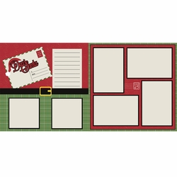 Dear Santa 2 Page Layout Kit