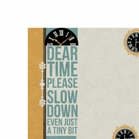 Dear Time 2 Piece Laser Die Cut Kit