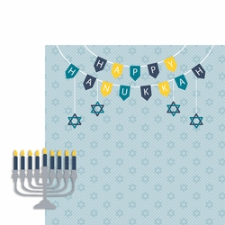 December: Hanukkah 2 Piece Laser Die Cut Kit