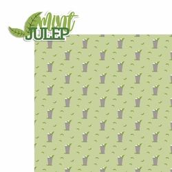 Derby: Mint Julep 2 Piece Laser Die Cut Kit