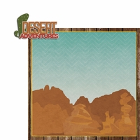 Desert Spirit: Desert Adventure 2 Piece Laser Die Cut Kit