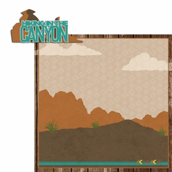 Desert Spirit: Hiking 2 Piece Laser Die Cut Kit