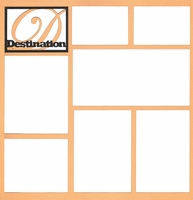 Destination 12 x 12 Overlay Laser Die Cut