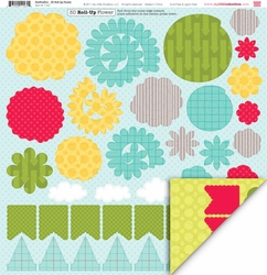 1SYT Destination: 3-Dimensional Roll Up Flower Die Cut