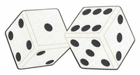 Dice Laser Die Cut