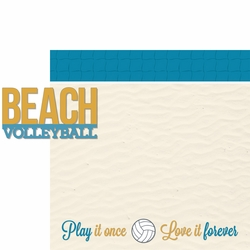 2SYT Dig It: Beach Volleyball 2 Piece Laser Die Cut Kit