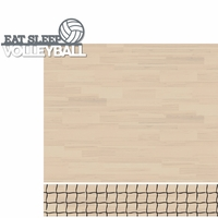 Dig It: Eat, Sleep, Volleyball 2 Piece Laser Die Cut Kit