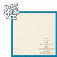 Dig It: Kiss My Ace 2 Piece Laser Die Cut Kit