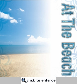 Digital Download: At The Beach 12 x 12 Paper