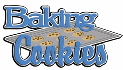 Digital Download: Baking Cookies Laser Die Cut
