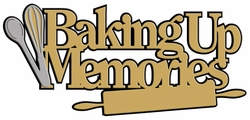 Digital Download: Baking Up Memories Laser Die Cut
