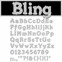 Digital Download: Bling: Silver Alpha Set