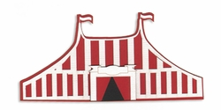 Digital Download: Carnival Fun!: Tent Laser Die Cut