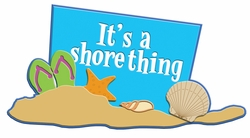Digital Download: It's A Shore Thing Laser Die Cut