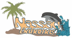 Digital Download: Nassau Bahamas Laser Die Cut
