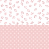 Digital Download: Oh Baby!: Pink Pacifiers and Dots 12 x 12 Paper