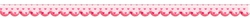 "Digital Download: Pink Heart Polka Scalloped 12"" Border"