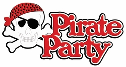 Digital Download: Pirate Party Laser Die Cut