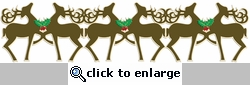 Digital Download: Reindeer Laser Border Die Cut